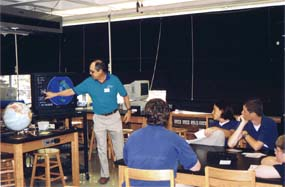 NFARL member instructing a Lovett class