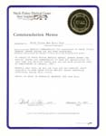 North Fulton Medical Center Commendation memo